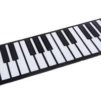 HOT R&F USB 88 Keys MIDI Roll up Electronic Piano Keyboard Silicone
