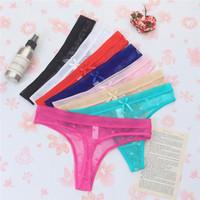 Sexy Celana Dalam Wanita Lace Transparan g string Lingerie C199