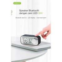 Robot RB550 Bluetooth Speaker 5.0 With LED Display & Alarm Clock