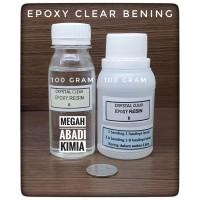 Epoxy Resin Bening Clear 100 Gram + Hardener 100 Gram