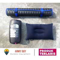 Paket Sleeping Bag Polar + Matras + Bantal Murah Nyaman Berkualitas