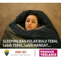 Sleeping Bag Polar Bulu Sleping Sliping Slepping Kantung Kantong Tidur