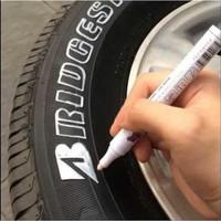 Spidol Tulis Ban Mobil / Motor TOYO Marker Paint Ori Warna Putih