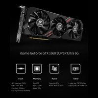 Colorful iGame GeForce GTX 1660 SUPER Ultra 6G-V