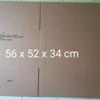 Kardus Packing Box Karton ukuran 56 x 52 x 34 cm