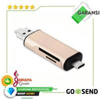 OTG 3 in 1 Smart Card Reader USB 3.0 Type C Combo
