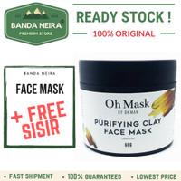Oh Man Oh Mask Purifying Clay Face Mask Original Lokal Murah