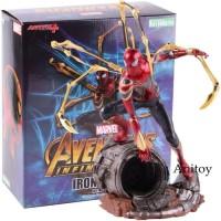Iron Spider Artfx+ Statue Action Figure Spiderman Marvel Infinity War