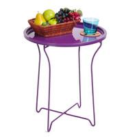 INTERIO - Meja Sisi Side Table Purple Hannah