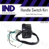 Holder-Handle Saklar-Switch Kiri-Left Supra X 100 Lama/Supra Fit Old