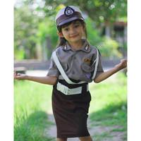 Baju Polwan anak / Polwan cilik