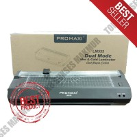 Promaxi LM333 Mesin Laminating Ukuran A3 LM-333 + Paper Cutter Rotary