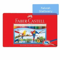 Faber-Castell Watercolour pencils 36 tin case / pensil warna 36