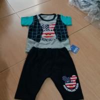 Stelan fashion Baju anak usia 1 - 2 tahun