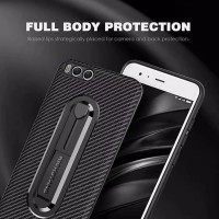 OPPO A3S slim carbon soft casE cover stand ring strap oppo A3 s
