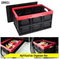 Car Storage Box Organizer Trunk Storage Kotak Penyimpanan Bagasi Mobil