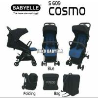 Kereta Bayi Cabin Size Stroller Bayi Murah Lipat Praktis BE Cosmo Baru