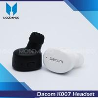 Dacom K007 Super Mini Bluetooth Headset Earphone Earset Handsfree QCY