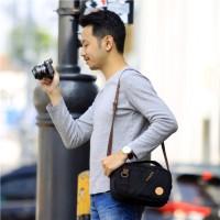 Tas Kamera Sling Bag Pouch Camera Mirrorless - Firefly Carrick Black