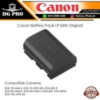 Canon Battery Pack LP-E6N Original - Baterai Canon EOS 60D - 70D - 80D