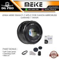 Lensa Meike 35mm F1.7 For Mirrorless CANON EOS M (EOS M6,EOS M100,M5)