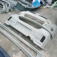 bodykit Yaris upgrade full Bumper 2006-2008 to TRD 2012 plus spoiler