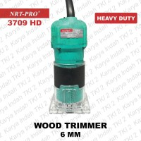 Wood Trimmer 6 mm NRT-PRO Mesin Router Profil Kayu 6mm 3709 HEAVY D