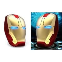 Bisa Gojek TaffWare Mouse Wireless Optical Iron Man 2.4Ghz - GFSK-M8 -