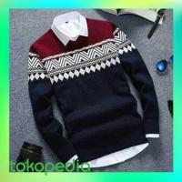 Atasan/Sweater Rajut Pria COLOMBUS Tribal