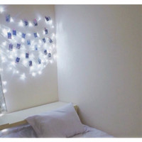 Lampu Tumblr LED Cool White Dekorasi Kamar / Lampu Tidur Hias