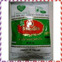 TERLARIS THAI GREEN TEA MIX REFILL NUMBER ONE CHATRAMUE BRAND 200 GR