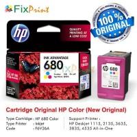 Cartridge Tinta HP 680 Color ORIGINAL Catridge HP 1115 2135