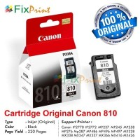 Cartridge Original Canon PG-810 Black New Catridge PG810 Hitam