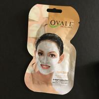 Ovale Facial Mask For Acne Care Lemon, Cucumber, Yam Bean Sachet 15 gr