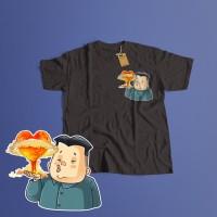 K/60 Kaos Custom Kim Jong Un North Korea Utara T-Shirt (5 Colors)