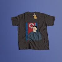 K/57 Kaos Custom Kim Jong Un North Korea Utara T-Shirt (5 Colors)