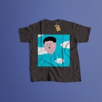 K/55 Kaos Custom Kim Jong Un North Korea Utara T-Shirt (5 Colors)