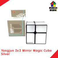 Rubik Mirror 2x2 Yongjun Magic Cube SILVER / YJ8365SLV