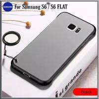 Case Samsung S6 Soft Hard Transparan UltraSlim Casing Galaxy S6 FLAT