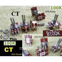 plus CT Potensio 100k Stereo Potensiometer 100 K B100K Tune volume