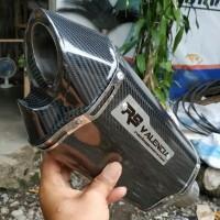Knalpot racing R9 Valencia Carbon Stiker