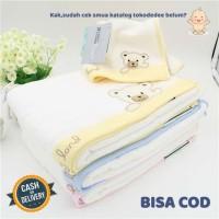 TokoDedee - Handuk Bayi Bahan Lembut / Handuk Bayi Terry Land Bear Bah