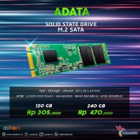 SSD M2 M.2 ADATA Ultimate SU650 120 GB | By Astikom