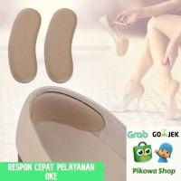 4D Heel Liners Bantalan Tumit Sepatu Olahraga Kantor Anti Lecet Empuk - Hitam