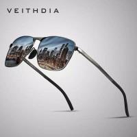 Original kacamata pria polarized sunglasses UV Veithdia 2462
