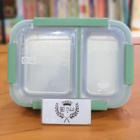 Kotak makan Lunch Box BPA FREE STAINLESS STEEL 1500 ml Vs Yooyee - Hello Kitty
