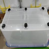 Big Promo Box container ( Kotak kontainer ) plastik 130 liter ( by