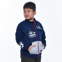 METALIZER KIDS 3430 Produsen Jaket Baju Sweater Anak Babyterry Premium - Merah, 10thn