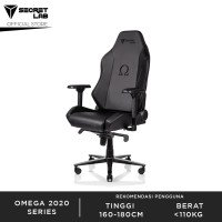 Secret lab OMEGA 2020 Series PRIME PU Leather Kursi Gaming - Black