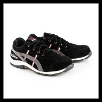 Terlaris Sepatu Safety Shoes Adidas Tiger Low Boots Ujung Besi -